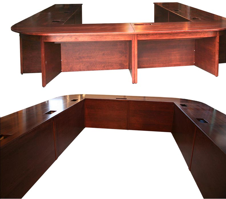 Amish Woodworking Handcrafted Furniture Made In The USA - Handmade conference table