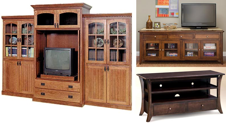 Amish Woodworking Offers A Line Of Custom Handmade Entertainment Centers To Fit Your Specific Requirements Enhance Audiovisual Needs