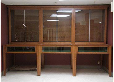 Custom Display Cabinet & Amish Woodworking Handcrafted Furniture Made in the USA