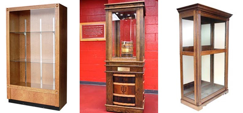 Amish Woodworking Offers A Line Of Custom Handmade Trophy Cases To Fit Your Specific Requirements Showcase Fine Objects And Trophies